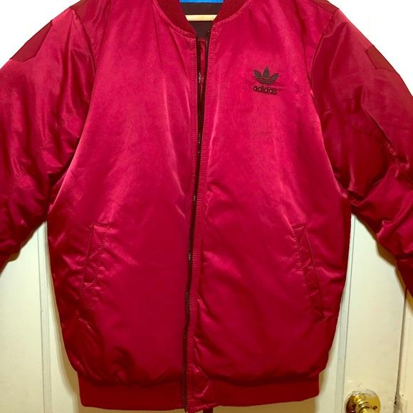 Extreem adidas Jackets & Coats | Red Mid Bomber Jacket | Poshmark @VR56